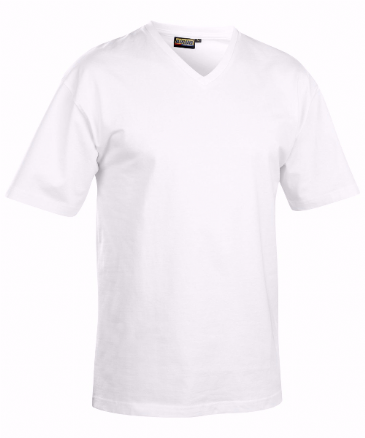Blaklader 3360 T-Shirt, V-Neck (White)